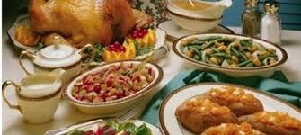 thanksgiving thanksgiving traditional dinner image