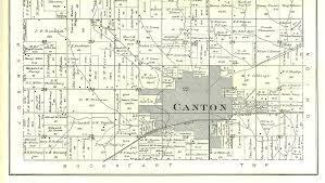Illinois Township Map by 1895 Atlas Of Fulton County Illinois Canton Township