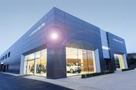 land rover headquarters swansway unveils new 6m land rover car dealership car