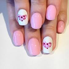 beautiful pink and white nail designs pink and white nail design