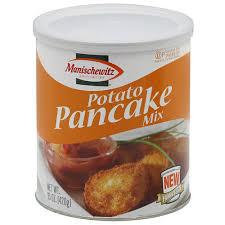 latke mix manischewitz homestyle potato latke mix 6 oz pack of 6