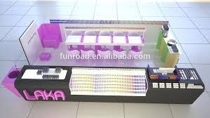 Nail Bar Table Station Manicure Tables Shopping Mall Nail Kiosk Bar Station View