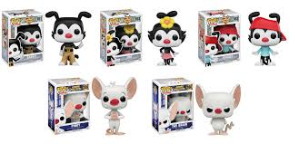 pinky and the brain animaniacs u0027 and u0027pinky and the brain u0027 are getting their own funko pops