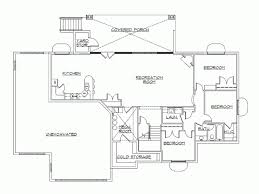 Bedroom Rambler House Plans Rambler House Plans With Walkout - Rambler home designs