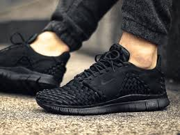 black friday nike black friday nike free 5 0 black on feet free trainer 5 0 nrg