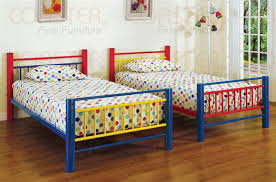 Metal Bunk Bed Frame Twin Twin Multicolor Metal Bunk Bed By Coaster 2048