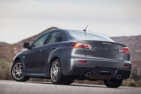 mitsubishi lancer evo 2017 2015 mitsubishi lancer evolution updated for last year motor trend
