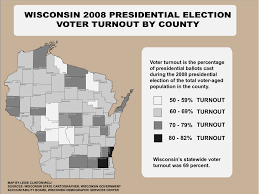 Wisconsin Election Map by Wisconsin Voter Turnout Patterns Shift Creating Tough Landscape