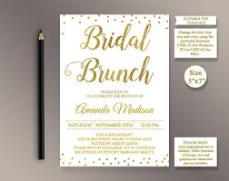 bridal brunch invitation bridal brunch invite etsy