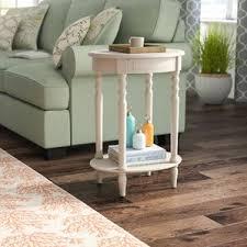 Distressed Wood End Table Distressed Finish End U0026 Side Tables You U0027ll Love Wayfair