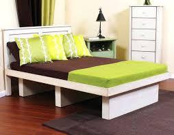 make a twin bed frame twin platform bed frame wood twin bed frame