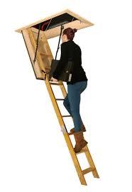semi automatic wooden ladder mister loft ladder