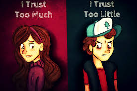 No Trust Meme - trust no one gravity falls know your meme