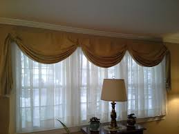 fishtail swag curtain on large window sewing pinterest swag
