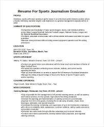 Basketball Resume Template For Player Journalist Resume Journalist Resume Samples Visualcv Resume