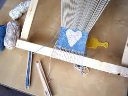 How To Make A Rag Rug Weaving Loom Make A Frame Loom For Weaving 10 Steps With Pictures