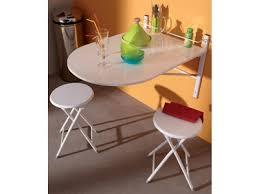 table de cuisine set table 2 chaises pliantes jonathan blanc