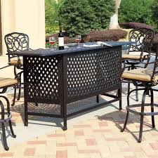 patio furniture bar style simple patio bar furniture clearance