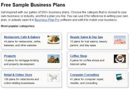 sample small business plans 6 sample restaurant business plan