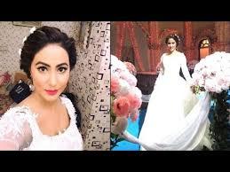 akshara wedding hairstyle akshara naira gayu hot glamorous avatar in church yash rose