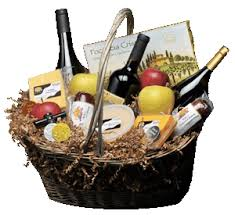 wine and cheese basket wine baskets huberwinery