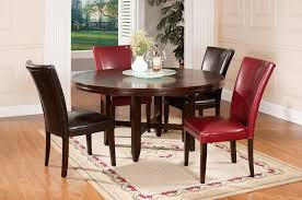 Round Dining Table And Chairs For 4 Steve Silver Hartford 72