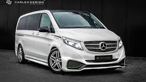 mercedes vito interior mercedes vito by carlex gets sporty exterior luxurious interior