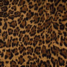 leopard fabric brown leopard print apparel fabric hobby lobby 654798