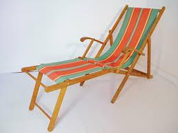 chaise longue transat chaise longue transat vintage 1960 les vieilles choses