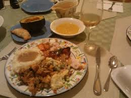 no time pre made thanksgiving dinner could be the way to go