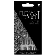 elegant touch glitter nails silver reviews free shipping