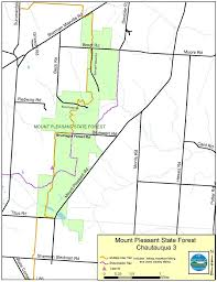 Montana State Map Mount Pleasant State Forest Map Nys Dept Of Environmental