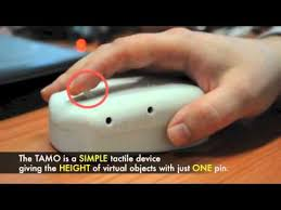 Technology For Blind People Tactile Mouse Tamo Low Cost Sensory Substitution Device For