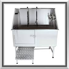 dog grooming table for sale sale medium professional stainless steel dog pet grooming tub with