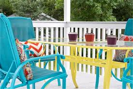How To Paint Wooden Chairs by Diy Upcycled Deck Furniture Accessories