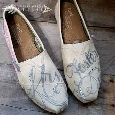 wedding shoes toms custom painted canvas toms shoes personalized wedding with