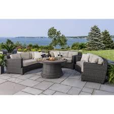 4 piece patio furniture sets berkley jensen hamptons crescent 4 piece fire chat set house