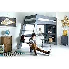 bureau sous mezzanine lit en hauteur avec bureau lit mezzanine bureau lit en mezzanine