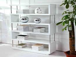 Low White Bookcase Bookcase Contemporary White Gloss Bookcase Contemporary White