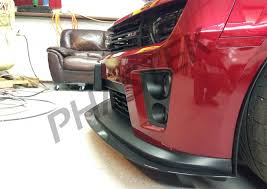 camaro zl1 carbon fiber insert 2012 2015 camaro zl1 carbon fiber front splitter by apr