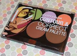 Make Up City Colour gussied up city color contour correct palette