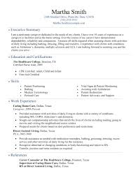 Caregiver Resume Template Pca Resume Template Sample Personal Resume Resume Cv Cover Letter