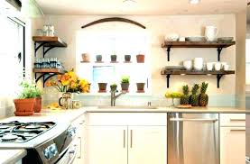 shelving ideas for kitchen rustic kitchen shelves rajboori com