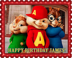 alvin and the chipmunks cake toppers alvin and the chipmunks road chip 1 edible birthday cake topper