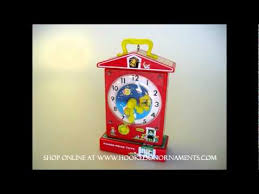 2011 box teaching clock fisher price hallmark ornament