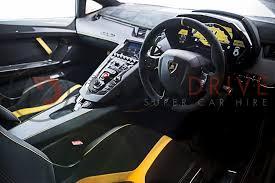 lamborghini interiors lamborghini aventador sv coupe car hire alphadrive supercar hire
