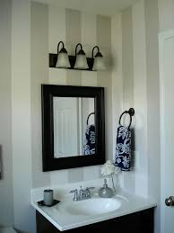 Striped Bathroom Walls The 25 Best Striped Bathroom Walls Ideas On Pinterest Nautical