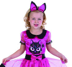 lil miss kitty halloween pink cat witch costume s s 6 m 8 girls