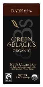 tablet black friday amazon amazon com green u0026 black u0027s organic dark chocolate 85 cacao