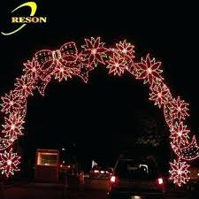 wedding arch lights best of new christmas light technology for ranch in new tree 83
